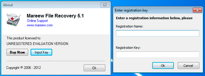 Registering Mareew File Recovery