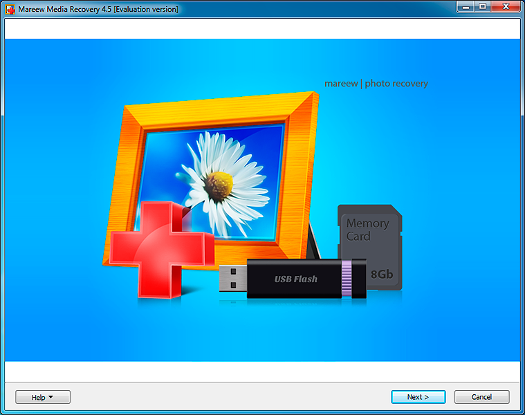 Click to view Mareew Media Recovery 2.47.1 screenshot